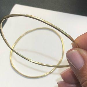 IPPOLITA Classic squiggle bangles 18k gold